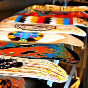 Skateboards at Liquid Art House Revised