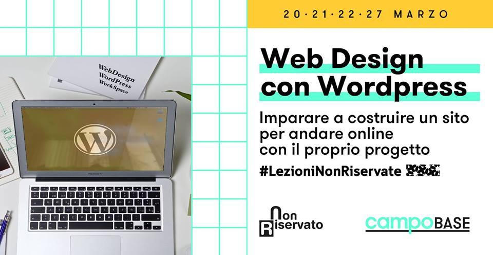 Web design con wordpress base milano for Web designer milano