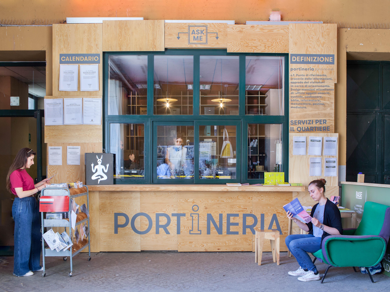 Ufficio Oggetti Smarriti Milano : Prototipo #1. la portineria u2013 base milano