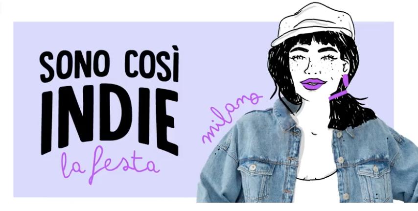 sono così indie_la festa party in BASE Milano